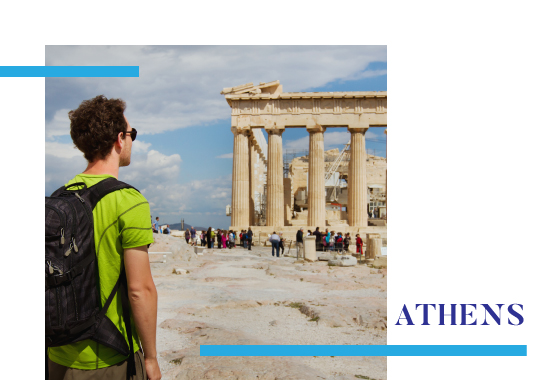 Backpacking in Athens