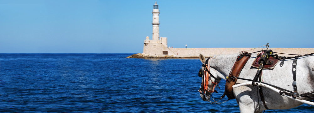 Old Port Lighthouse, Chania