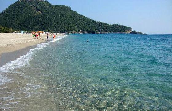 Best Beach On Aegina Island