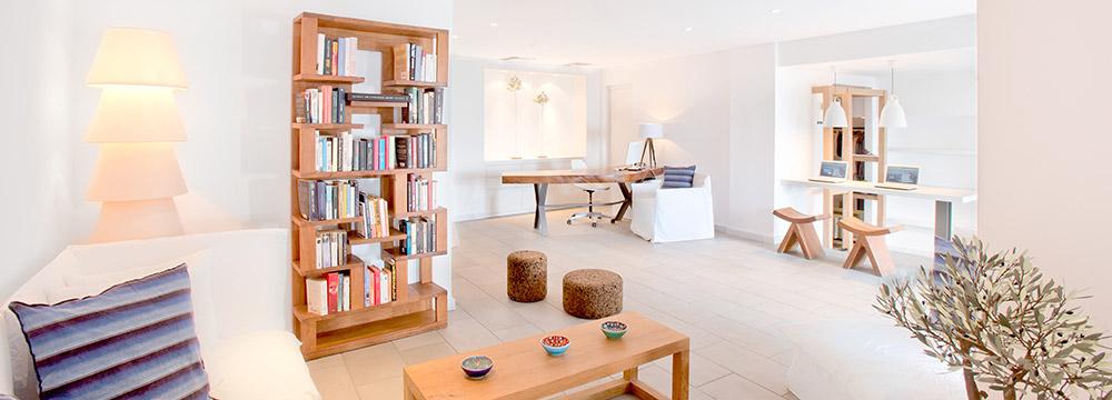 Grace Mykonos Reception & Lobby Lounge