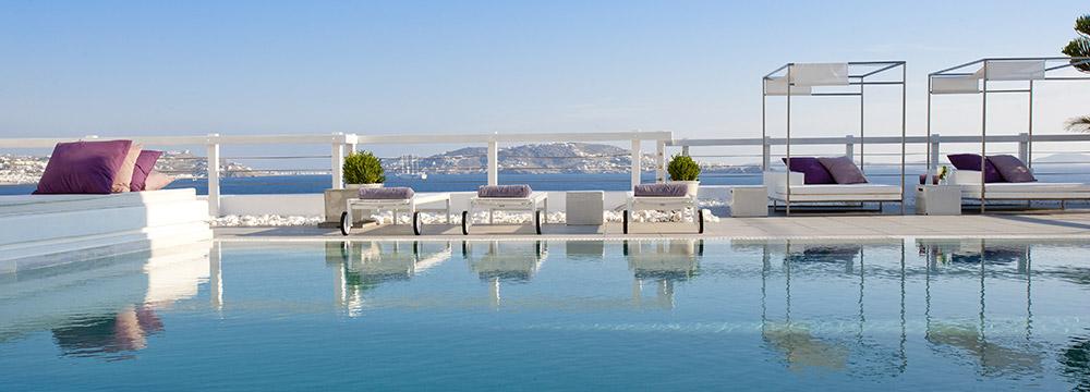 Grace Mykonos Swimming Pool & Sunloungers