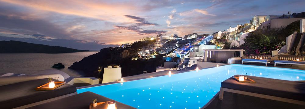 Katikies Hotel swimming pool