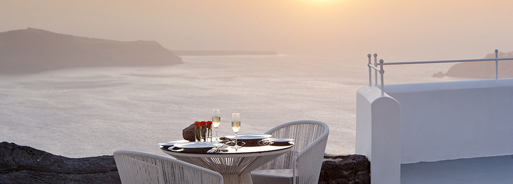 Grace Santorini Sunset Dining