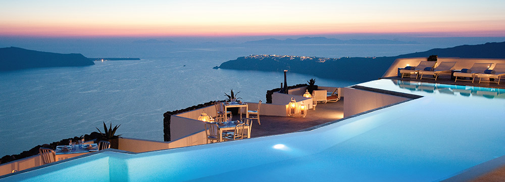 Grace Santorini Infinity Pool