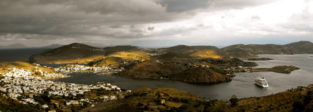 Panoramic view, Patmos