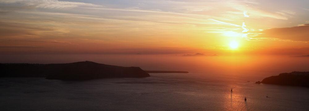 Sunset - Santorini Island