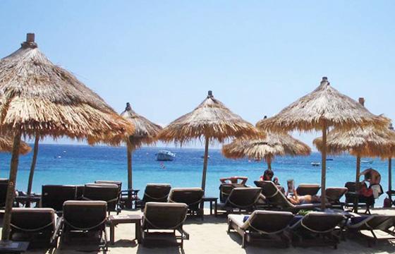 Best Island Beaches For Partying Mykonos St Barts: Cycladia Swim