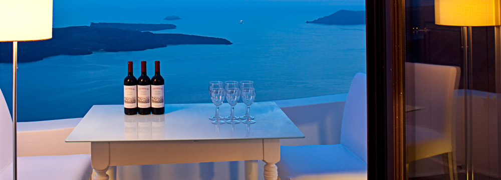Greek Restaurant-Santorini Island