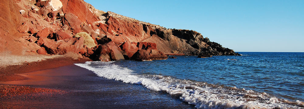 Red Beach - Santorini Island